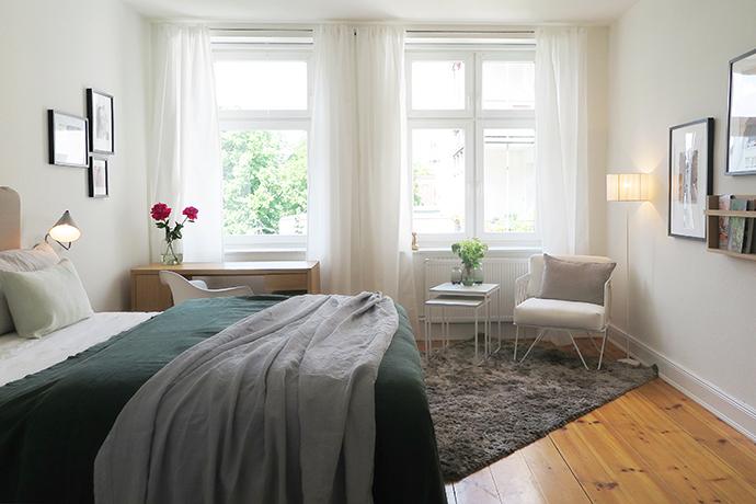 Schlafzimmer groß klein